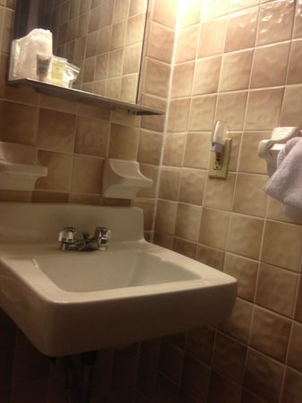Roosevelt Inn: Bathroom