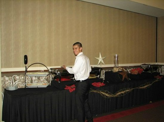 Overton Hotel and Conference Center : Catered Dinner