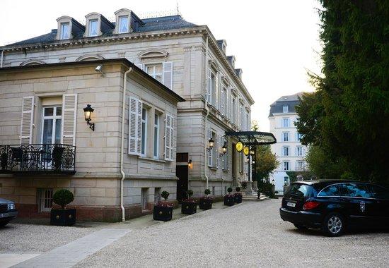 Hotel Belle Epoque: Hotel View