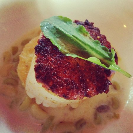 Canyon Kitchen at Lonesome Valley : Chili-seared Scallop
