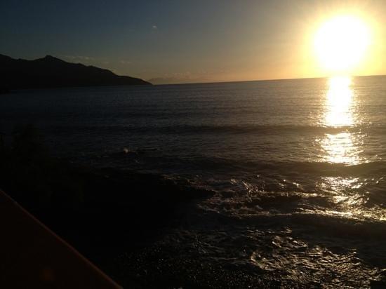 Hotel Scoglio Bianco: sunset