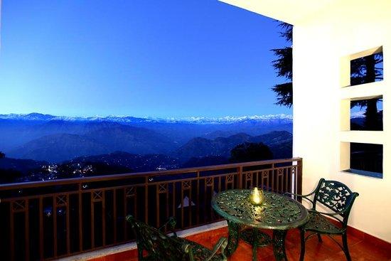 Grand View Hotel: Luxury Room Balcony