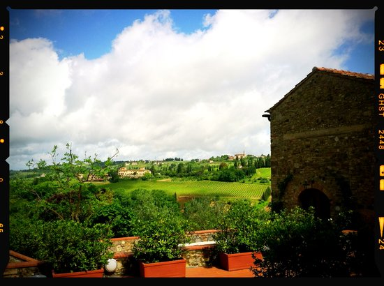 PodereSanBartolo VillaPrumiano: View from San Bartolo 3