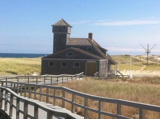 Race Point Beach: Coast Gaurd Rescue Station Race Point.