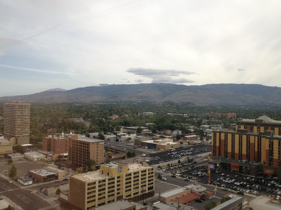 Silver Legacy Resort and Casino: View from the room 1