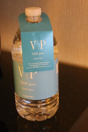 Renaissance Baltimore Harborplace Hotel: Water in the room