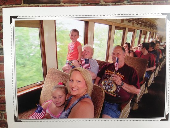 Grapevine Vintage Railroad: The Whole Crew on Board & ready to roll