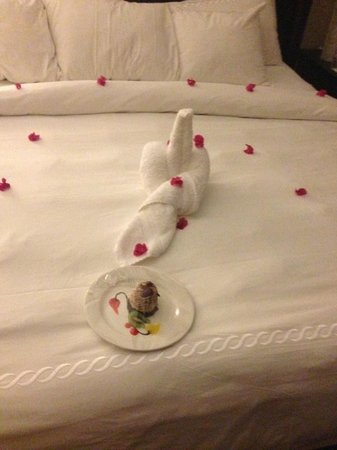 Sandals Ochi Beach Resort: Towel Art