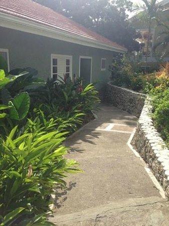 Sandals Ochi Beach Resort: Entry Way