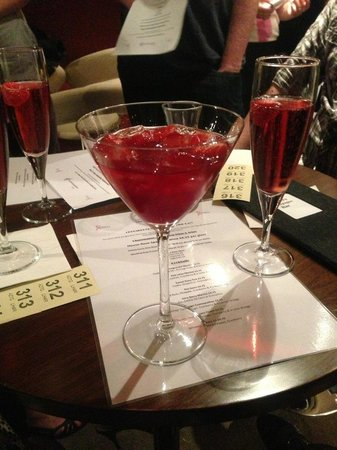 Very Berry - Picture of Crooners Champagne Bar, Darlington ...