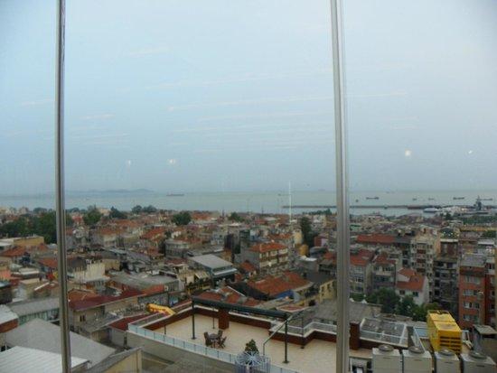 Hotel Venera: Vista desde los comedores.