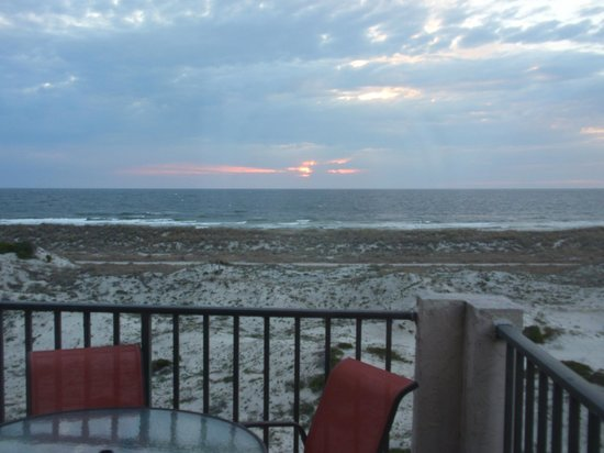 Summer Beach Resort View From End Unit Sailmaker