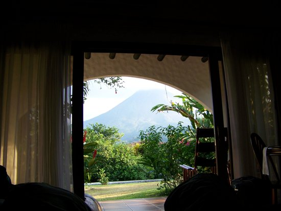 Hotel Mountain Paradise: our view from inside room
