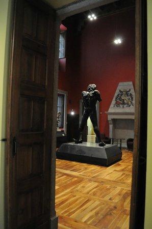 Museo Arte Moderna e Contemporanea: interno-marini