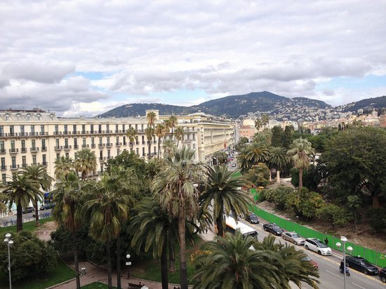Le Meridien Nice: View from 511,