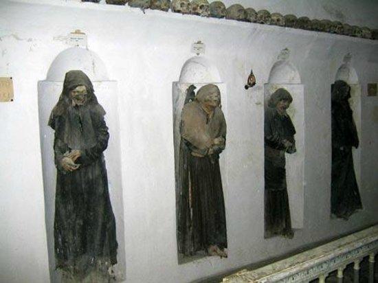 Oria, Italie: le mummie