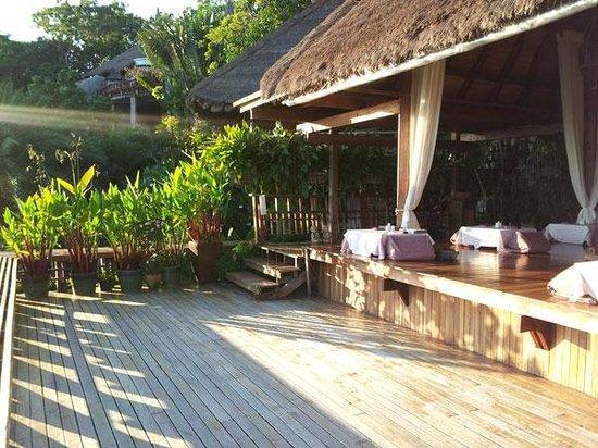 Thipwimarn Resort: Restaurant with stunning view