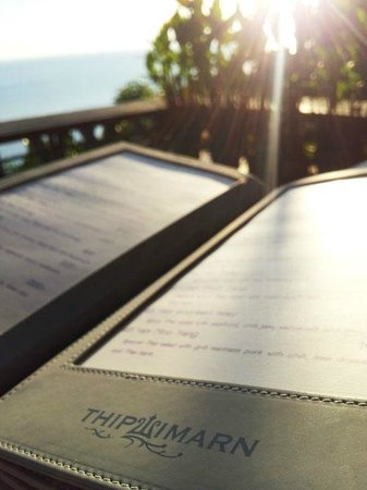 Thipwimarn Resort: Restaurant with stunning view