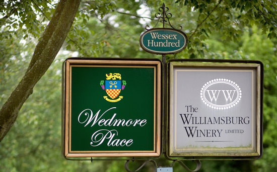 Wedmore Place: Minutes from Williamsburg in the middle of Wessex Hundred (a three hundred acre winery farm.