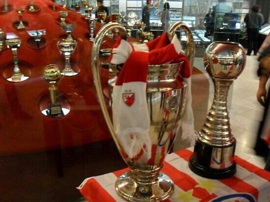 Red Star Belgrade Stadium - Marakana: European and world champion...