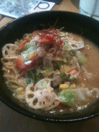Cafe Relax: Vegi Miso Ramen