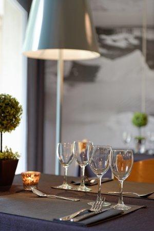 Hotel Residence Hippotel : restaurant