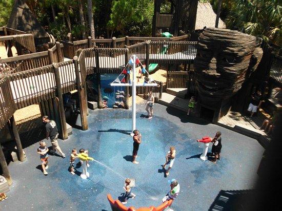 Sugar Sand Park: wet zone..