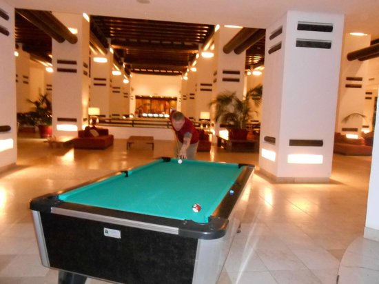 Pool Table Near The Lounge Picture Of H Estepona Palace - Pool table near by