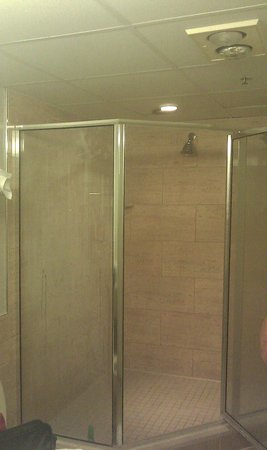 Holiday Inn Hotel & Suites Ocean City: Huge three head shower