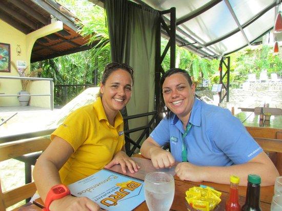 Restaurante Buru by the Park: Lindas las amiguis..