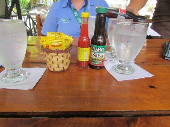 Restaurante Buru: Salsita que no puede faltar¡¡