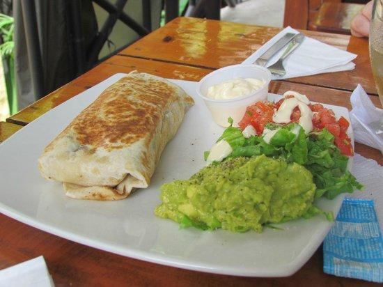 Restaurante Buru by the Park: Un burrito para Lu