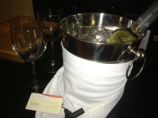 Kinzie Hotel: Complimentary Wine!