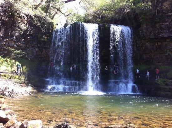 Sgwd yr Eira: stunning waterfall