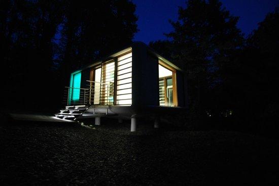 view from mini golf photo de chateau de la poste assesse tripadvisor. Black Bedroom Furniture Sets. Home Design Ideas