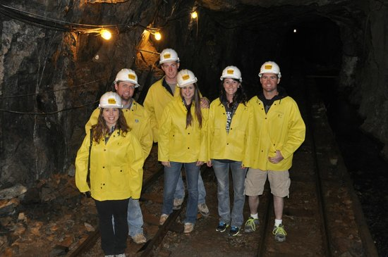 Old Hundred Gold Mine Tour : Our group