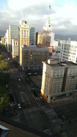 Oakland Marriott City Center: View from the room