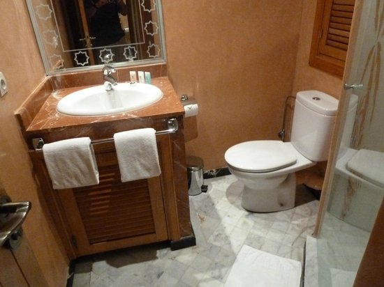 Les Trois Palmiers : Bathroom