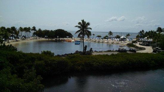 Ocean Reef Club: View from room 5310.