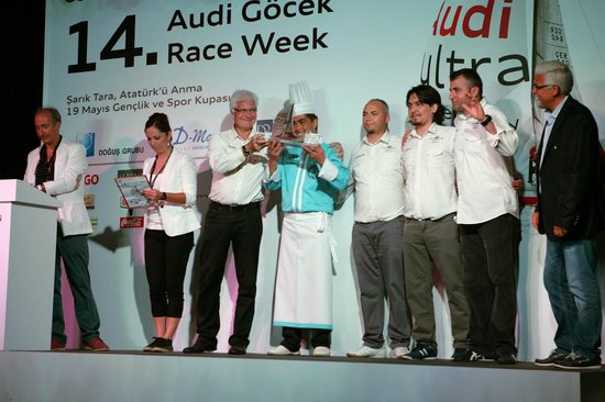Gocek, Turkey: 14. Audi Göcek race week - host & catering Martı Veranda