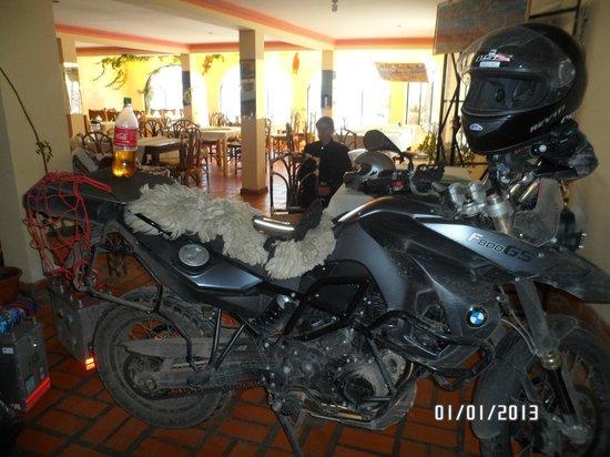 Hotel Mirador: Zona del comedor