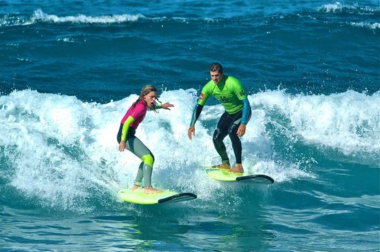 Escuela de surf K16: PRIVET LESSON