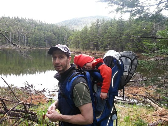 Highland Center Lodge at Crawford Notch : hiking with a tired kid