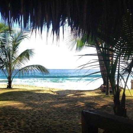 Natura Cabana Boutique Hotel & Spa: veiw from breakfast