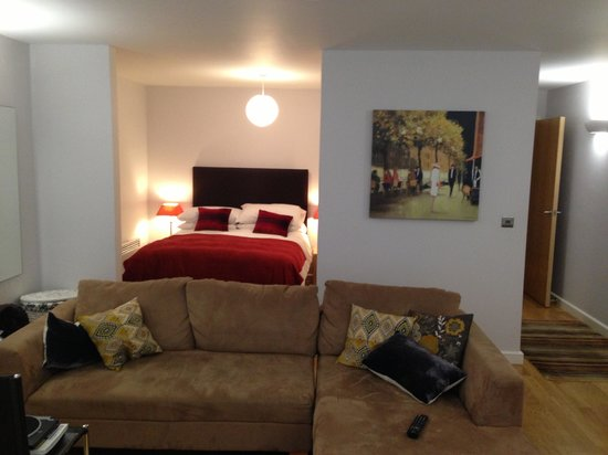 Marino Place Apartments: Living room and bedroom