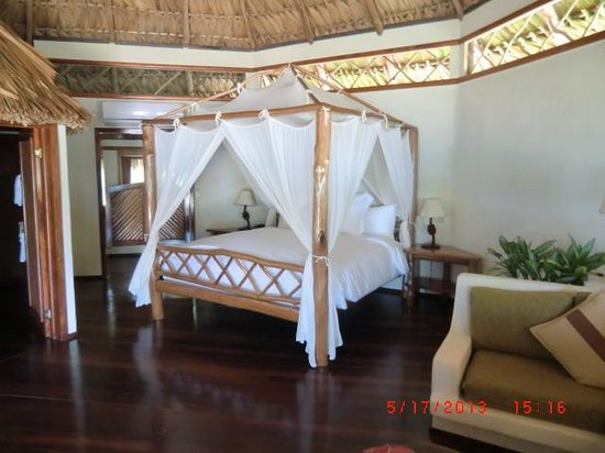 Kanantik Reef & Jungle Resort: An AAAHHH moment when we walk into our Cabana