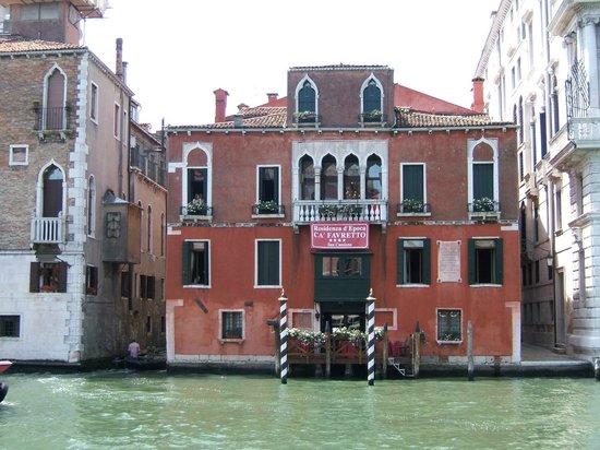 San Cassiano Residenza d'Epoca Ca' Favretto: Façade de l'hôtel