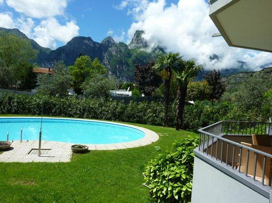 Residence Toblini: Blick vom Balkon