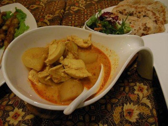 Restaurant Borneo: Chicken curry