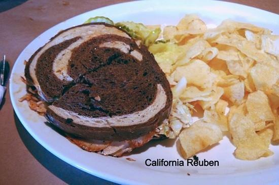 Deboer Bakkerij & Dutch Brothers Restaurant: California Reuben is very good.